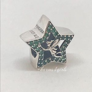 Authentic PANDORA Disney Tinker Bell Star Charm